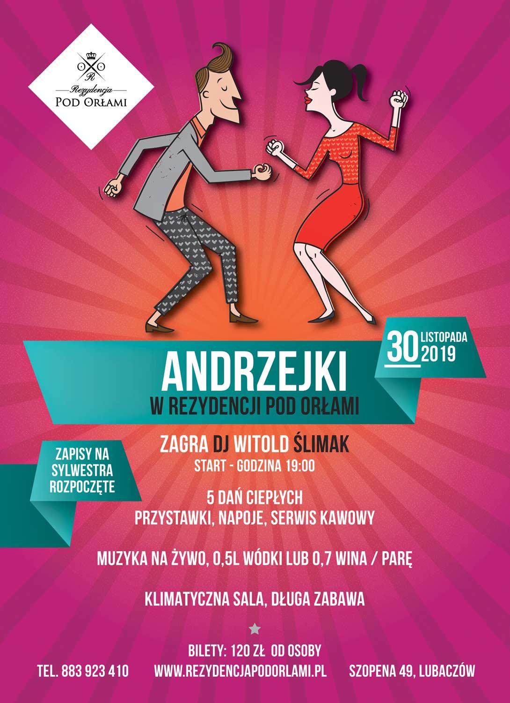 Andrzejki Lubaczów Podkarpacie Rezydencja 2019