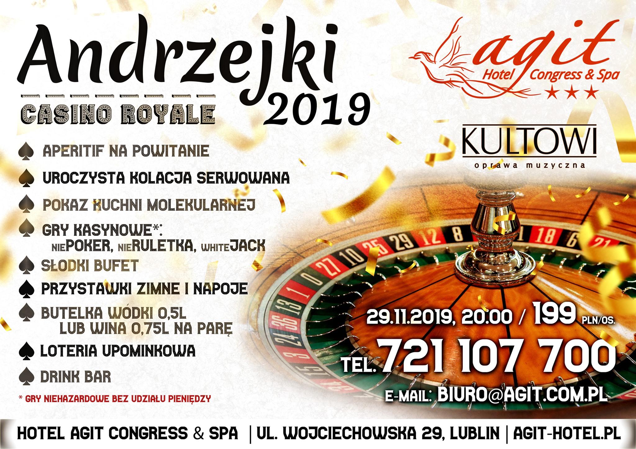 Hotel Agit Andrzejki 2019