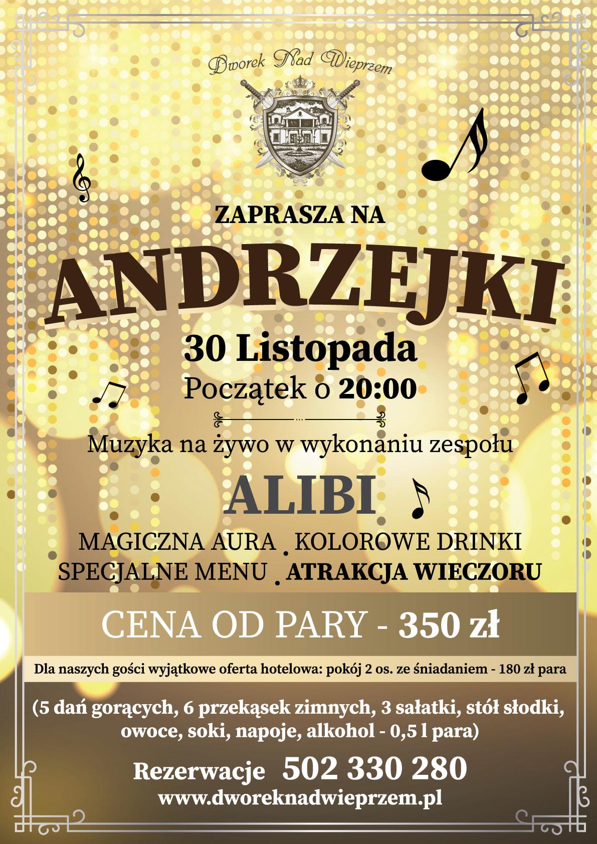 Dworek Nad Wiepszem Andrzejki 2019