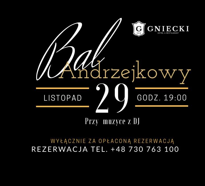 Hotel Gniecki Bal Andrzejkowy 2019