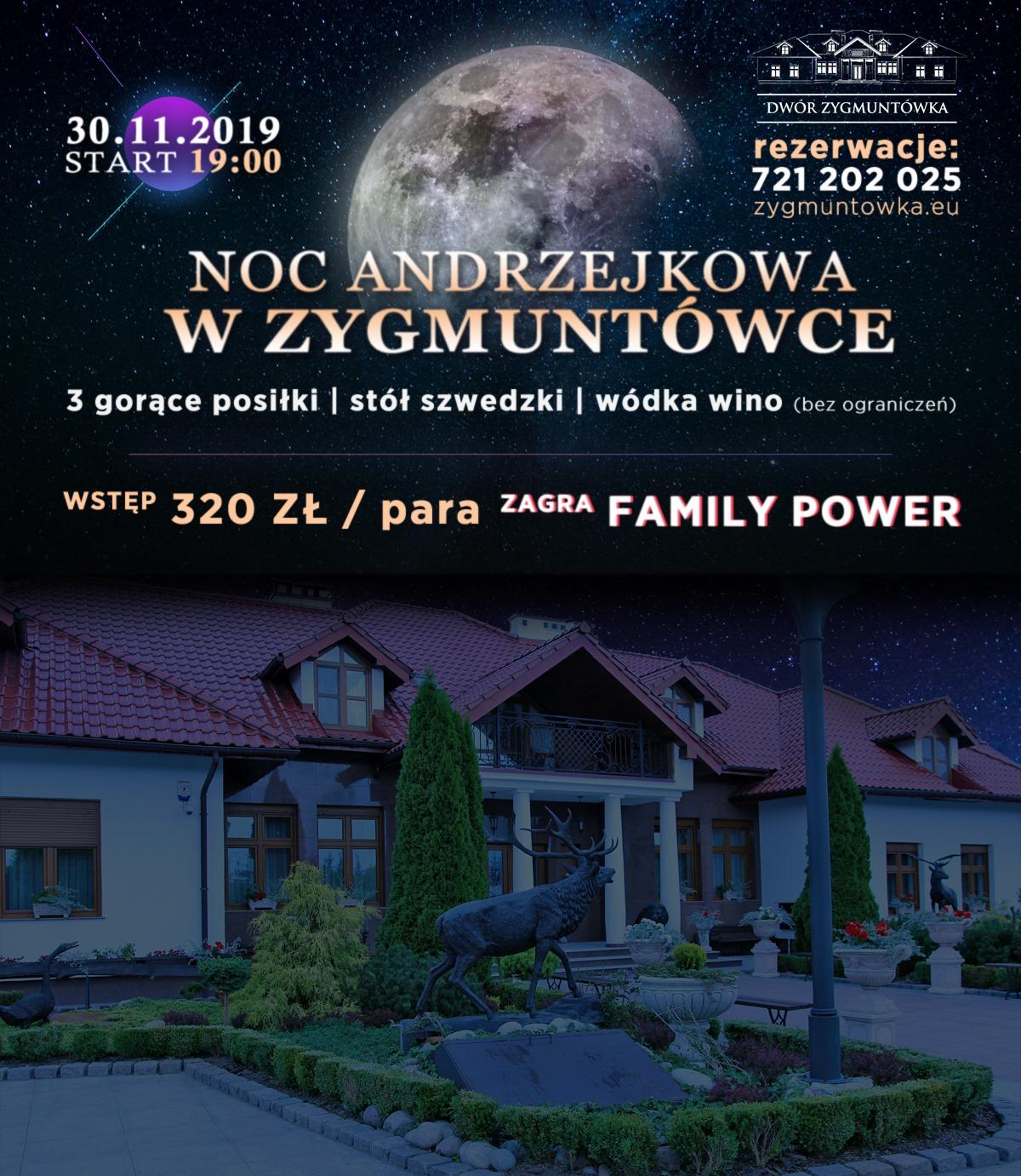 Andrzejki Zygmuntówka 2019