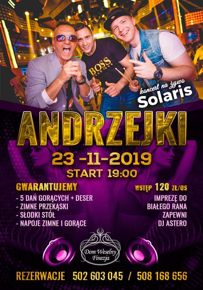 Andrzejki 2019 Dom Weselny Finezja