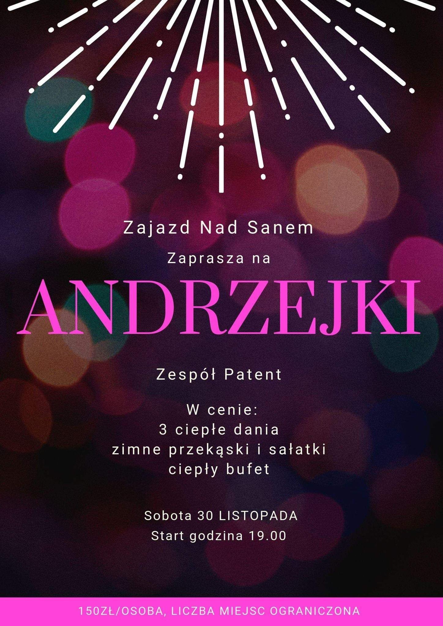 Zajazd Nad Sanem Andrzejki 2019