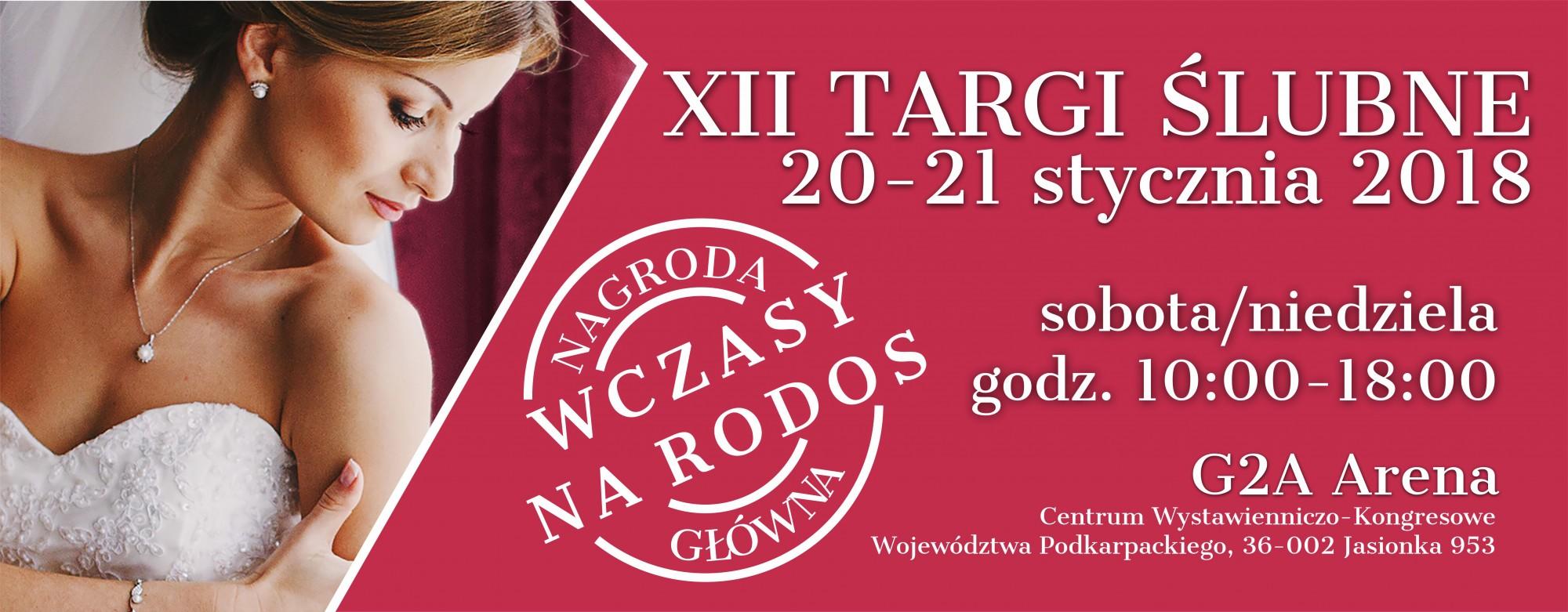targi ślubne rzeszów 2018